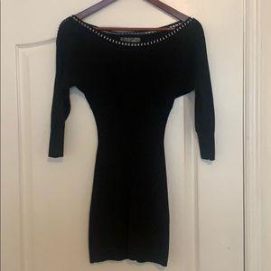 Black short guess dress